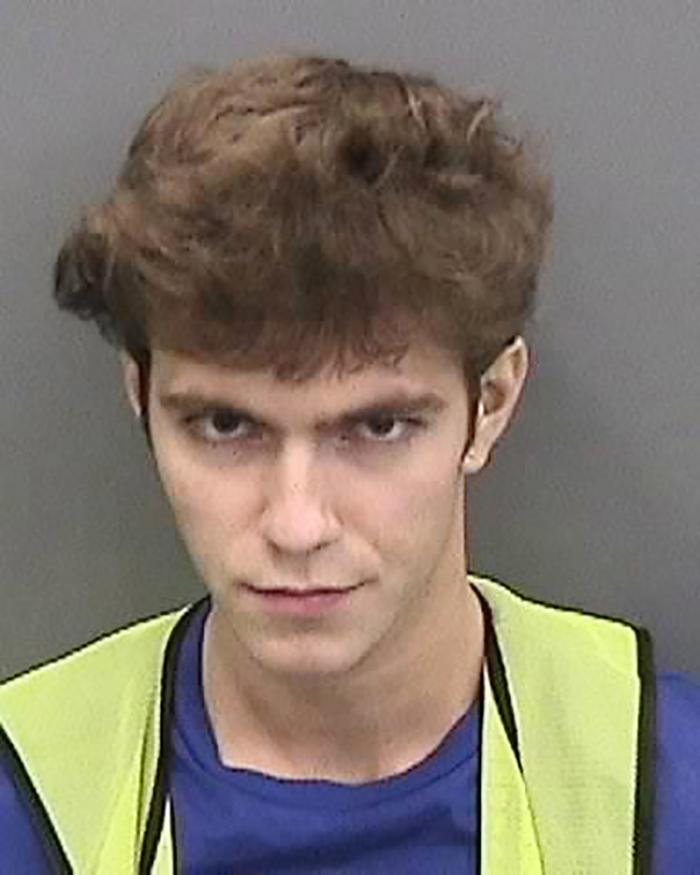 The Hillsborough County Sheriff's Office, Fla., released the photo Graham Ivan Clark, 17, after his arrest Friday, July 31, 2020.