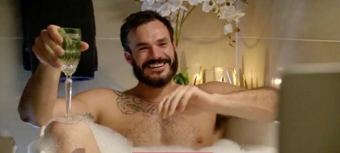 """Locky Gilbert in a screenshot from this week's Australian edition of """"The Bachelor."""""""
