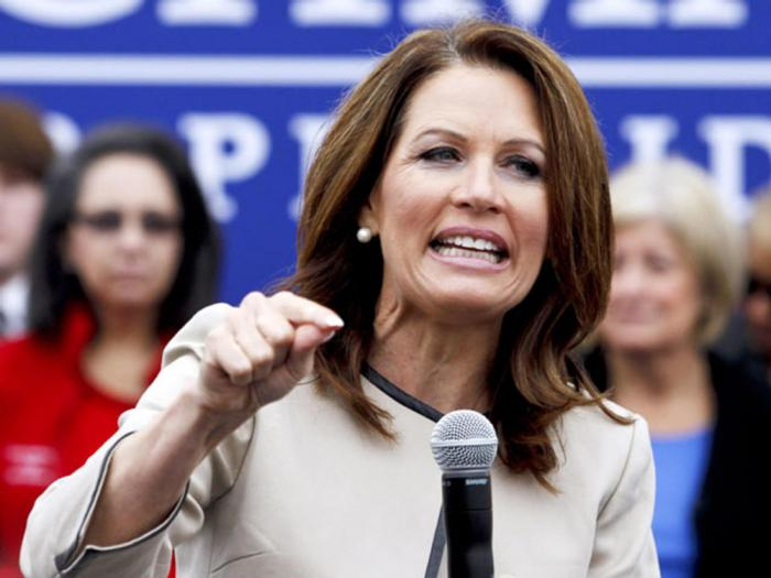Former GOP Rep. and onetime presidential hopeful Michelle Bachmann