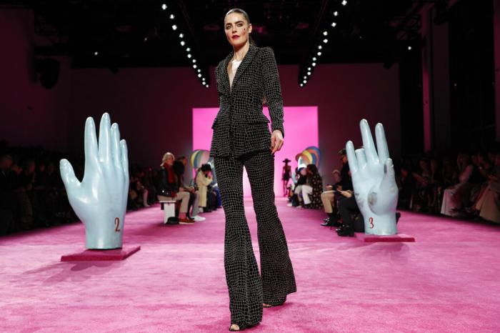 The Christian Siriano collection is modeled during Fashion Week in New York on Feb. 6, 2020.