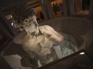 Art or Censorship? Expo Shows Just Top of Famed David Statue